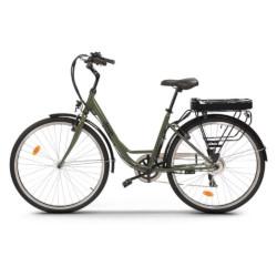 """Bicicletta elettrica JEEP - City E-Bike ruote 28"""" Velocità Max 25 Km/h Motore 250W Verde"""