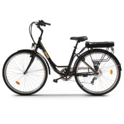 """Bicicletta JEEP - Jeep City E-Bike ruote 28"""" Velocità Max 25 Km/h Motore 250W Nero"""
