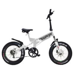 """Bicicletta LEXGO - RUFF20 20"""" 25 Km/h Bianco"""