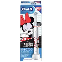 Spazzolino elettrico Braun - Oral-B Pro 3000 Minnie Ricaricabile 2 Modalità spazzolamento