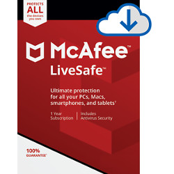 Software McAfee - Livesafe mls00iexurmb