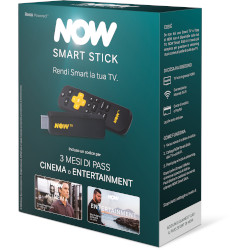 Internet TV SKY ITALIA - NOW Smart Stick con i primi 3 mesi a scelta tra Pass Cinema o Entertainment