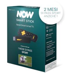 Internet TV SKY ITALIA - NOW Smart Stick con i primi 2 mesi inclusi del Pass Sport di NOW