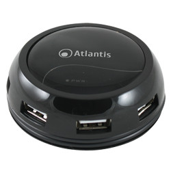 Hub Atlantis Land - Powered hub 7 ports usb