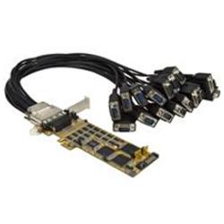 Image of Adattatore di rete 16 port pci express serial card RS232