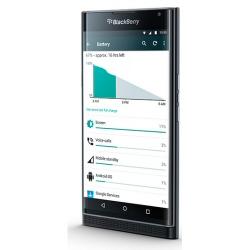"""Smartphone BlackBerry Priv - Smartphone - 4G LTE - 32 Go - microSDXC slot - GSM - 5.4"""" - 2560 x 1440 pixels (540 ppi) - AMOLED - 18 MP (caméra avant de 2 mégapixels) - Android - noir"""