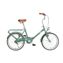 Bicicletta BEBIKE - La Mia 20'' Pieghevole Colore Verde