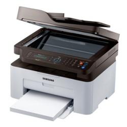 Imprimante laser multifonction Samsung Xpress M2070FW - Imprimante multifonctions - Noir et blanc - laser - Legal (216 x 356 mm) (original) - A4/Legal (support) - jusqu'à 20 ppm (copie) - jusqu'à 20 ppm (impression) - 150 feuilles - 33.6 Kbits/s - USB 2.0, LAN, Wi-Fi(n)