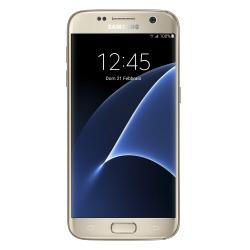 "Smartphone Samsung Galaxy S7 - SM-G930F - smartphone - 4G LTE - 32 Go - microSDXC slot - GSM - 5.1"" - 2560 x 1440 pixels (577 ppi) - Super AMOLED - 12 MP (caméra avant de 5 mégapixels) - Android - or platine"