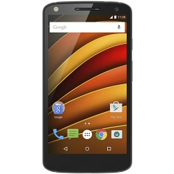 "Smartphone Motorola Moto X Force - Smartphone - 4G LTE - 32 Go - microSDXC slot - GSM - 5.4"" - 2560 x 1440 pixels (540 ppi) - AMOLED - 21 MP (caméra avant de 5 mégapixels) - Android - nylon balistique noir"