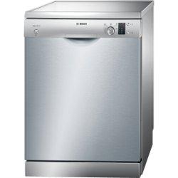 Lave-vaisselle Bosch Serie 4 SMS41D08EU - Lave-vaisselle - pose libre - largeur : 60 cm - profondeur : 60 cm - hauteur : 84.5 cm - Inox argent