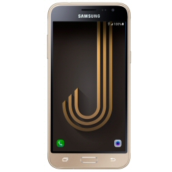 "Smartphone Samsung Galaxy J3 (2016) Duos - SM-J320F/DS - smartphone - double SIM - 4G LTE - 8 Go - microSDXC slot - GSM - 5"" - 1 280 x 720 pixels - Super AMOLED - 8 MP (caméra avant de 5 mégapixels) - Android - or"