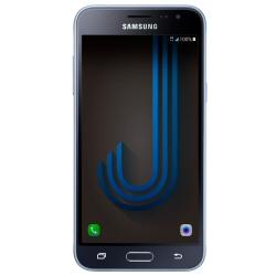 """Smartphone Samsung Galaxy J3 (2016) Duos - SM-J320F/DS - smartphone - double SIM - 4G LTE - 8 Go - microSDXC slot - GSM - 5"""" - 1 280 x 720 pixels - Super AMOLED - 8 MP (caméra avant de 5 mégapixels) - Android - noir"""