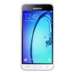 """Smartphone Samsung Galaxy J3 (2016) Duos - SM-J320F/DS - smartphone - double SIM - 4G LTE - 8 Go - microSDXC slot - GSM - 5"""" - 1 280 x 720 pixels - Super AMOLED - 8 MP (caméra avant de 5 mégapixels) - Android - blanc"""