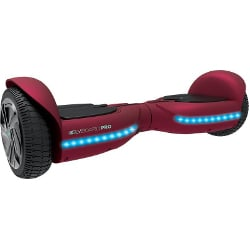 Hoverboard Two Dots - Glyboard Pro Rosso