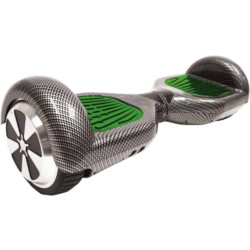 Smartboard TekkDrone - 6,5'' Carbon Fluo 15km/h Verde, Carbonio