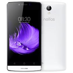 """Smartphone TP-LINK Neffos C5L - Smartphone - double SIM - 4G LTE - 8 Go - microSDHC slot - GSM - 4.5"""" - 854 x 480 pixels (217.7 ppi) - 8 MP (caméra avant de 2 mégapixels) - Android - blanc perle"""