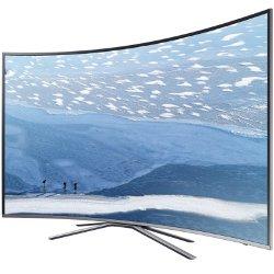 """TV LED Samsung UE55KU6500U - Classe 55"""" - 6 Series incurvé TV LED - Smart TV - 4K UHD (2160p) - HDR - UHD dimming - argenté(e)"""