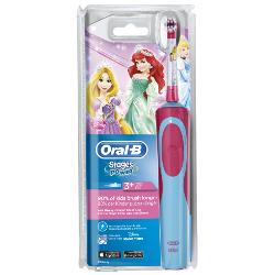 Spazzolino elettrico per bambini Braun - VITALITY KIDS PRINCESS 1 Ricaricabile 1 Modalità spazzolamento