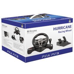 Controller Fellowes - Hori Racing Venom Hurricane - volante con pedaliera PS3-PS4