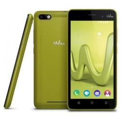 "Smartphone Wiko LENNY 3 - Smartphone - double SIM - 3G - 16 Go - microSDXC slot - GSM - 5"" - 1 280 x 720 pixels (294 ppi) - IPS - 8 MP (caméra avant de 5 mégapixels) - Android - citron vert"